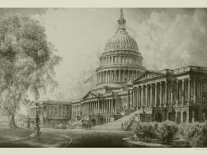 U.S. Capitol by Louis Orr
