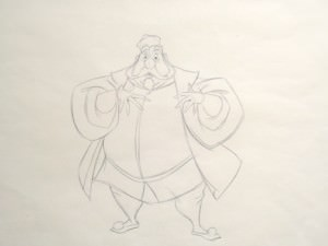 King Hubert by Walt Disney Studios